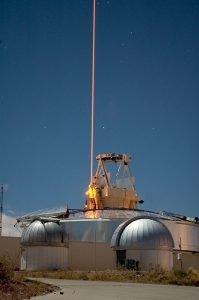 Lasermessgeräte in der Raumforschung